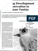 Balancing development and conservation  in Saharan Tunisia