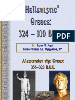 Alex the Great and Hellenistic Greece