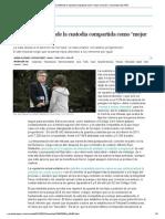 """El Supremo defiende la custodia compartida como """"mejor solución"""" _ Sociedad _ EL PAÍS"""