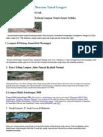 10 Bencana Tanah Longsor