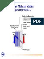 Www.netl.Doe.gov Technologies Coalpower Turbines Refshelf DOEPapers FE Turbine Materials Version1