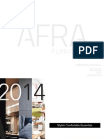 Afra Furniture Presentation (English)