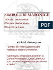 Simboluri Masonice ppt.