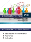 Collaborative Publishing Lecture JOURNALISTS' GROUP 2013