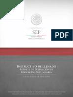 Instructivo 2013 Secundaria (1)