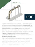 Los Aislamientos en El Steel Framing