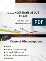 Answers to Misconceptions