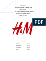 H&M valuation