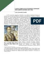 Un Caso Di Agnosia Visiva Complicata in Paziente Asperger. Il Pittore e Scrittore Alberto Savinio (1891-1952)