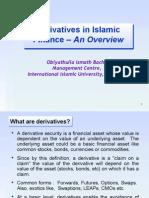 Dr Obi Paper Derivatives in Islamic Finance an Overview Bank Negara 24th June 05