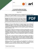 La vocación global de China a través de sus personalidades