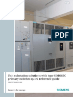 ANSI MV GIS SIMOSEC Substation Reference Guide En