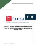 Manual Desarrollo de Sistemas Sep-05