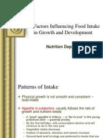 Faktor Pemilihan Makanan