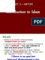 Intro to Islam