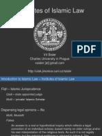 Institutes of Islamic Law