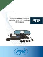 Manual Senzori Parcare PNI ADL005
