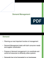 5, 6 & 7 - Demand Management
