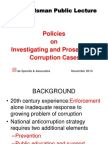 Manila Policies on Investigating and Prosecuting