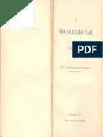Dr. Szentkláray Jenő - A BECSKEREKI VÁR