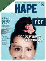 De SCA Magazine SHAPE 4 2013 Neue Verbraucher