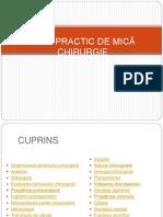 Manual de Chirurgie(Incepatori)