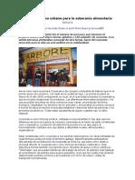 Cooperativismo urbano para la soberanía alimentaria