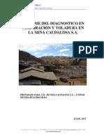 Informe Perforacion y Voladura Huachocolpa