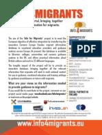 Info4migrants Flyer Educa 2014