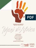 Report Mani d'Africa 2013