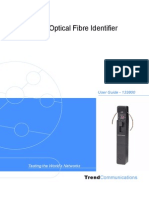 Optical Fibre Identifier User Guide English Iss 1
