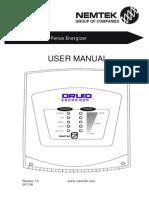 Druid Energizer User Manual