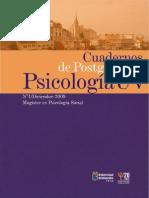 Cuaderno de Postgrado Psicologia Uv