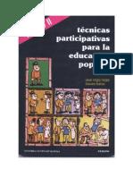Tecnicas Participativas Para La Educacion Popular Tomo II (1)