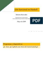 Programación Funcional en Haskell