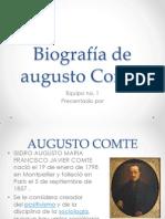 Diapositivas Augusto Comte