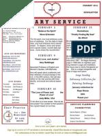 Luuf Newsletter Feb 2014.Pub