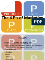1. The 4 P's of Marketing