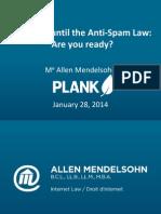 CASL Plank Presentation January 28 2014