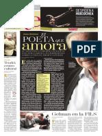 Juan Gelman, el poeta que amora