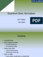 ECE 598XL QD Formation