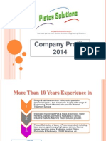 Pistos Solutions Profile 28 Jan 2014
