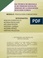 1era Exposicion Psicologia Comunitaria