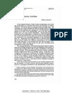 Niklas Luhmann - Law as a Social System