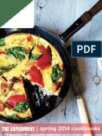 The Experiment   Spring 2014 Cookbooks