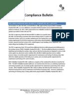 GDS Informational Bulletin FERC Order #793 (PRC-005-2)