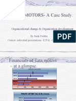 Organisation  Change Tata Motors