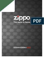 Zippo Catalog 0809 Italy