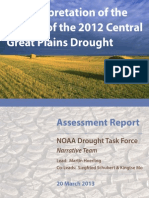 An Interpretation of the Origins of the 2012 Central Great Plains Drought