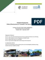 URBANgrad Programme Africa